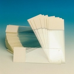 Microscope slides Superfrost/plus 75x25x1 mm pack 72 pcs.