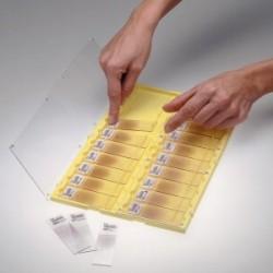 Slide folder for 20 slides 75x25 mm temperature resistance