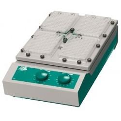 Mikrotiterplattenschüttler TiMix 2 exakt kreisend Aufsatz für 4