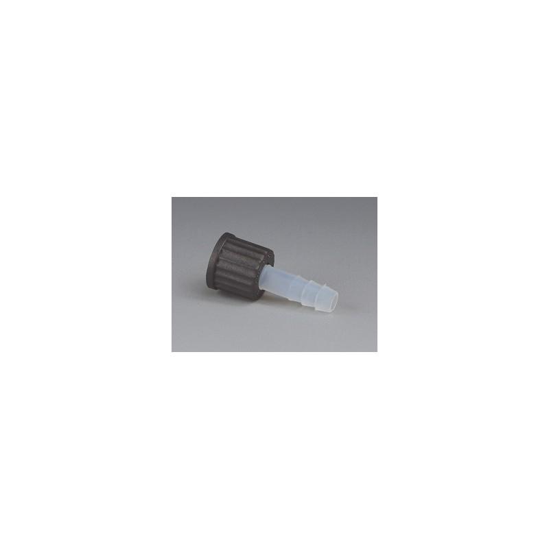 GL-Schraub-Olive (mit Mutter) PFA FPM O-Ring Kappe PPS GL 14 Ø