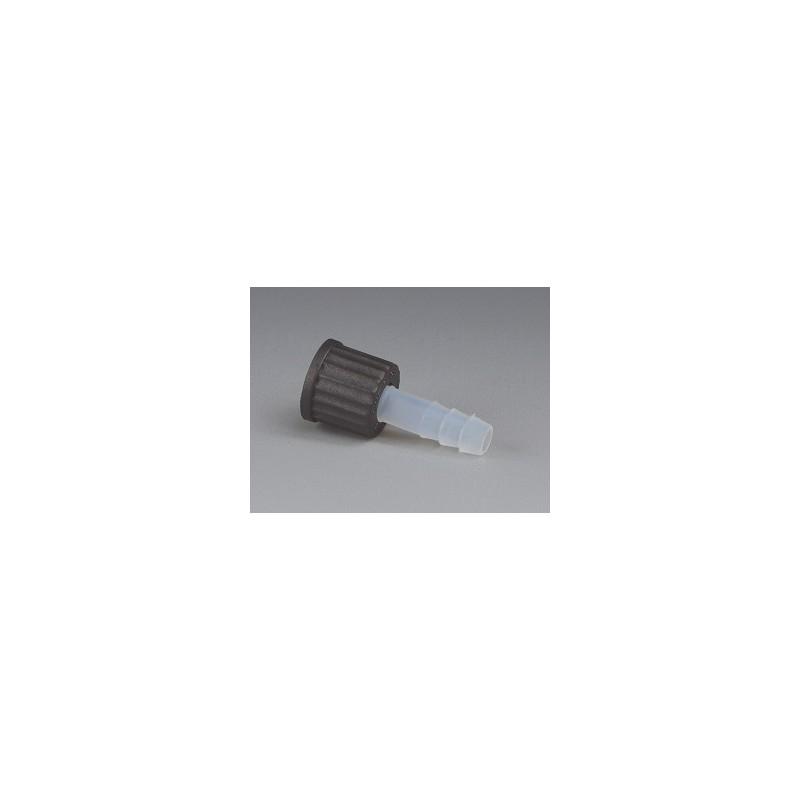 GL-Schraub-Olive (mit Mutter) PFA FPM O-Ring Kappe PPS GL 18 Ø
