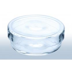 Petri dish quartz glass ØxH./mm 35x15 bottom shell edge honed