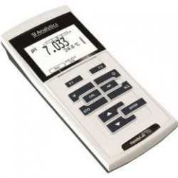 pH meter HL 100 Versatile Set in case 100 with solutions and