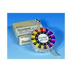 Indikatorpapier Duotest pH 5,0...8,0 Nachfüllpack VE 6 Stck.