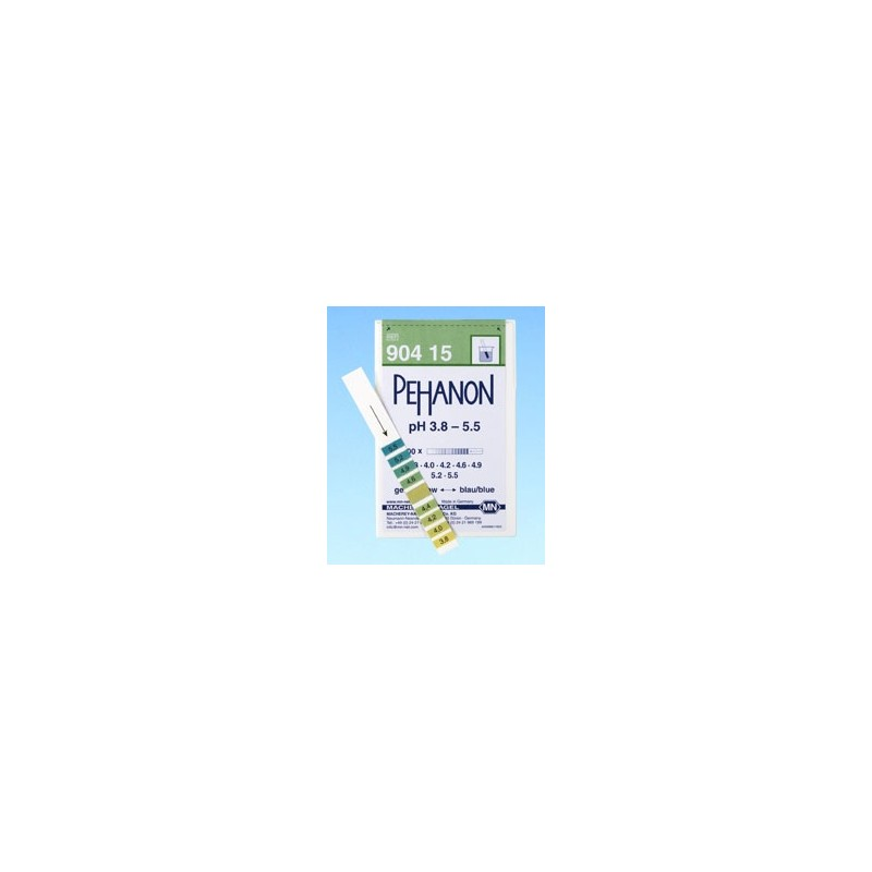 Indicator paper Pehanon pH 1,0…12,0 pack 2 x 200 pcs.