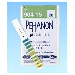 Indicator paper Pehanon pH 1,8…3,8 pack 2 x 200 pcs.