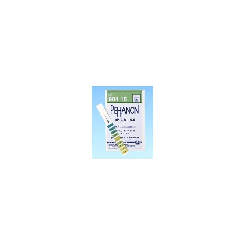 Indicator paper Pehanon pH 1,8…3,8 pack 2 x 200 pcs.