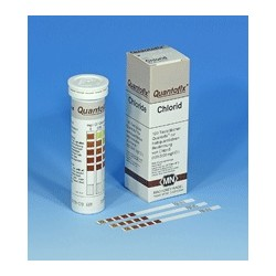Test-strip QUANTOFIX for Chlorid 0 · 500 · 1000 · 1500 · 2000 ·