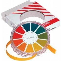 Papierek wskaźnikowy w rulonach pH 1-14 op. 1 rolka