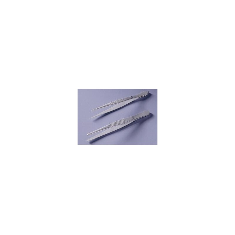 Tweezers teflon coated straight pointed lenght 105 mm