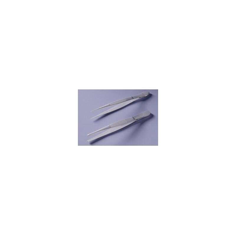 Tweezers teflon coated straight pointed lenght 130 mm