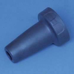 Adaptergehäuse PP für accu-jet pro dunkelblau