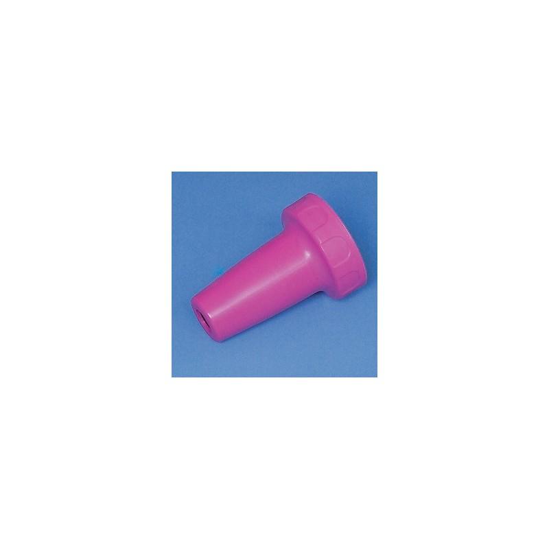 Adaptergehäuse PP für accu-jet pro magenta