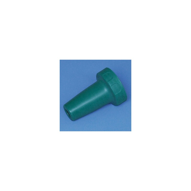 Adapter housing PP for accu-jet pro green