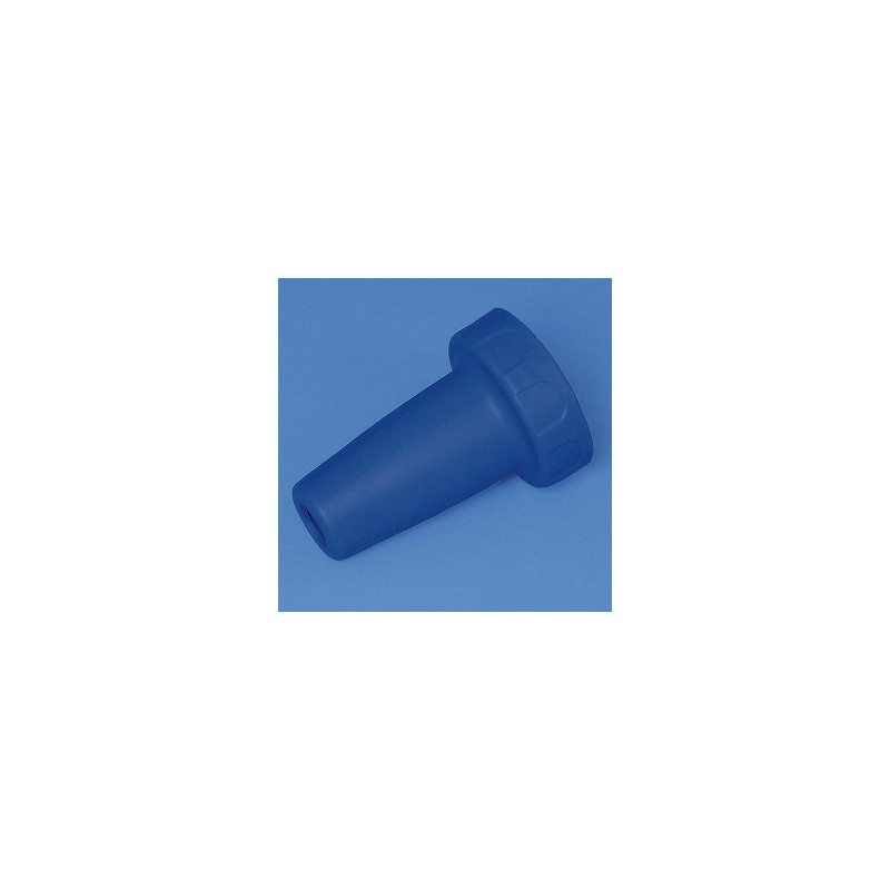 Adapter housing PP for accu-jet pro royal blue
