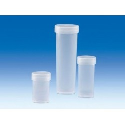 Sample container PP 5 ml with snap-on lid PE-LD pack 25 pcs.