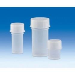 Sample container PP 30 ml with screw cap pack 10 pcs.