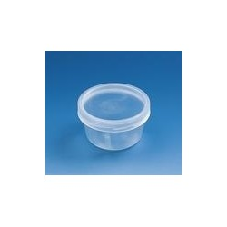 Jar with screw cap PP conical shape approx 30 ml pack 1000 pcs.