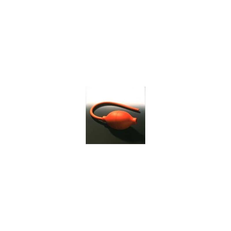 Atomizer Bulbs PVC reddish-brown Size 3 Pressure Valve