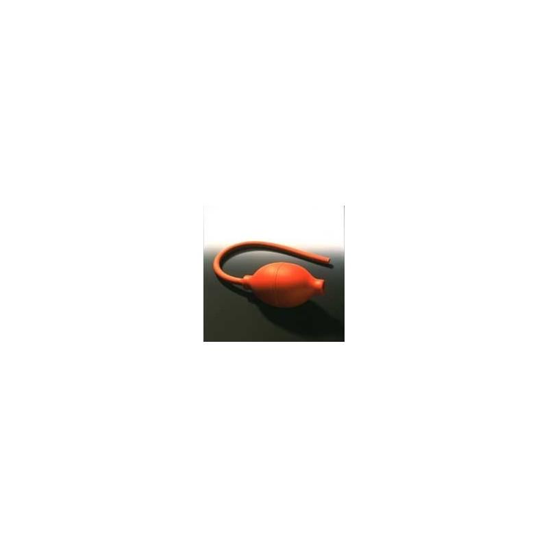 Atomizer Bulbs PVC reddish-brown Size 5 Pressure Valve