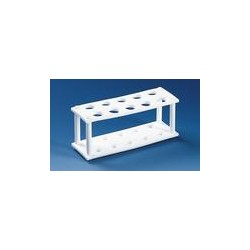 Test tube stand PTFE for 10 tubes up to Ø 19 mm