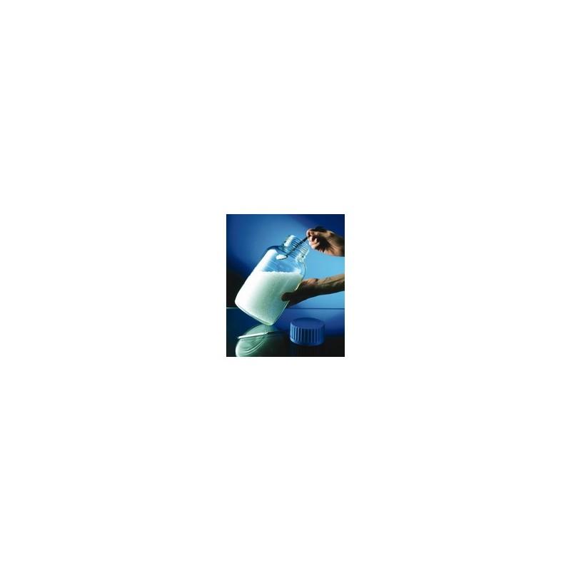 Laborflasche 10000 ml weithals Duran Schraubkappe GLS80 blau