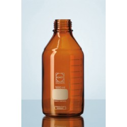 Reagent bottle 25 ml Duran amber without srew cap GL25
