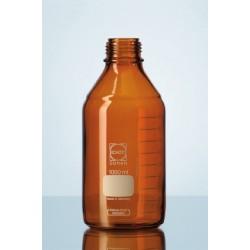Laborflasche 500 ml Duran braun ohne Schraubkappe GL45 VE 10