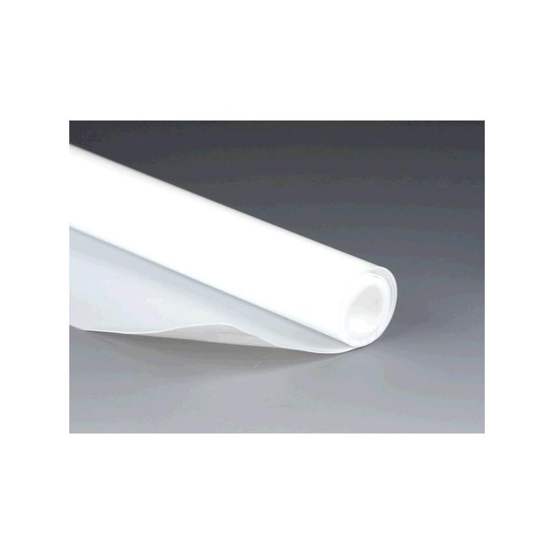 Sheet PTFE length 1000 mm width 300 mm thickness 0,50 mm