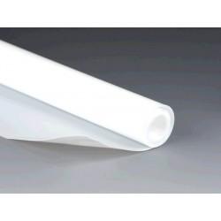 Sheet PTFE length 1000 mm width 300 mm thickness 0,75 mm