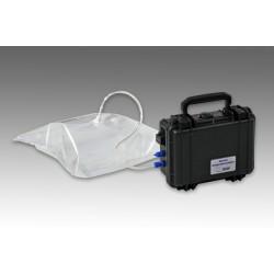 Mobile sampling system for gas samples