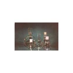 Round bottom flask 100 ml quartz glass SJ19