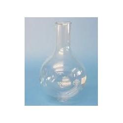 Rundkolben 100 ml Borosilikatglas 3.3 Enghals Bördelrand VE 6