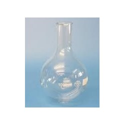Round bottom flask 2000 ml borosilicate glass 3.3 narrow neck