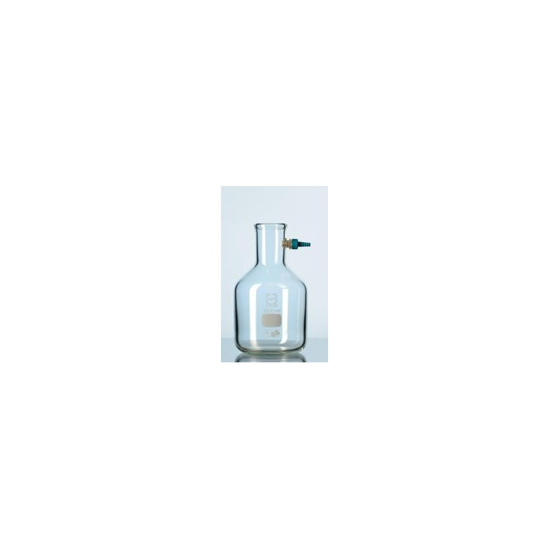 Filtering flask 3000 ml Duran with Keck assembly set flask shape