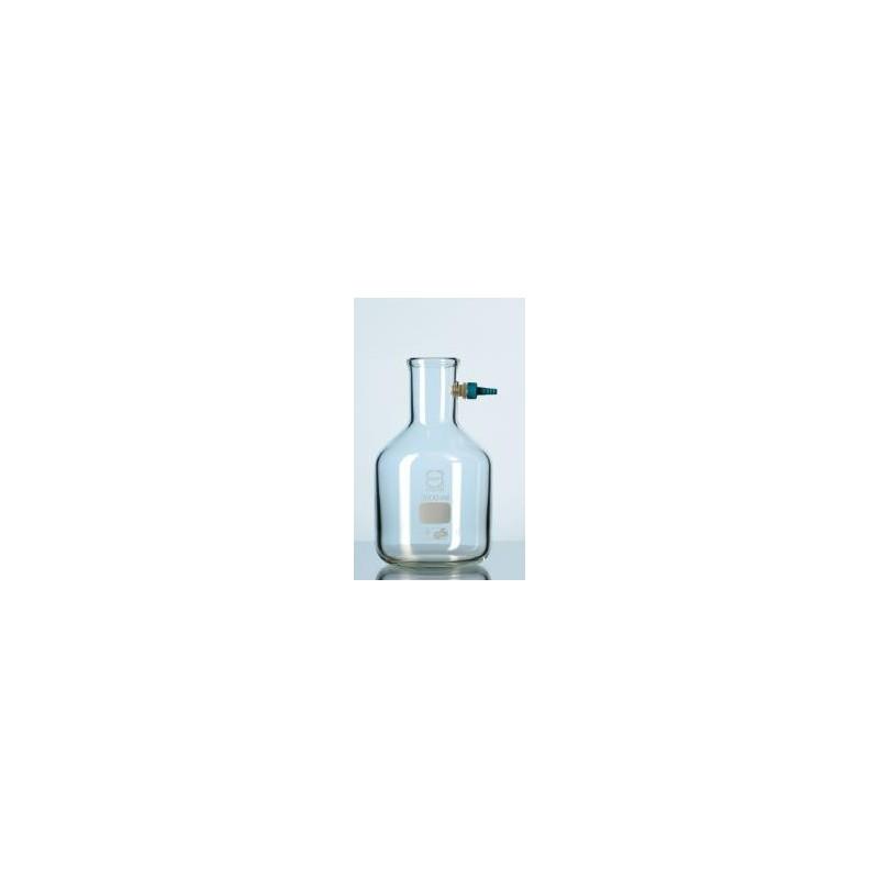 Saugflasche 3000 ml Duran mit Keck Montage-set Flaschenform