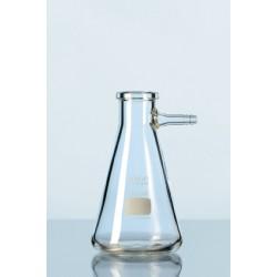 Saugflasche Duran 1000 ml mit seitlicher Olive Erlenmeyerform