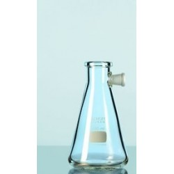 Filtering flask Duran 250 ml with side-arm socket Erlenmeyer