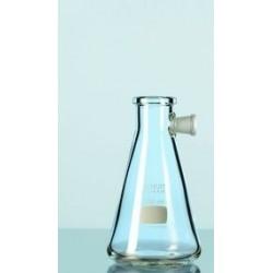 Saugflasche Duran 1000 ml mit Seitentubus Erlenmeyerform