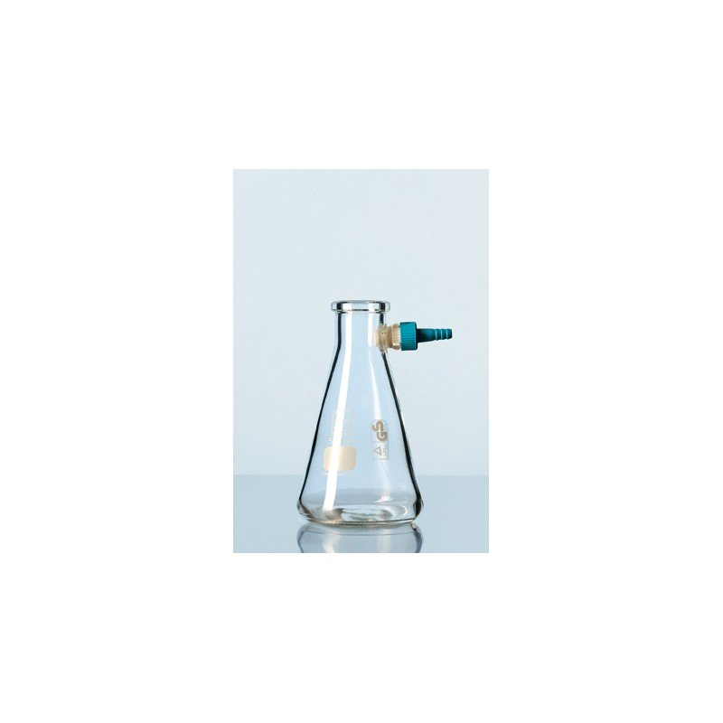 Filtering flask Duran 2000 ml with Keck assembly set Erlenmeyer