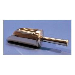 Chemical scoop 120 ml stainless steel 18/10 Ø 50 mm