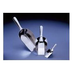 Chemical scoop aluminium 240 ml lengthxscoop length 250x145 mm