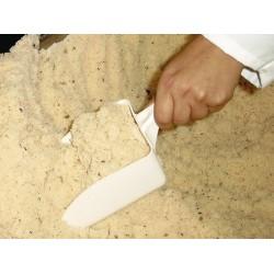 Szufelka do napełniania PP biała długość całkowita 35 cm