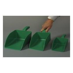 Szufelka do napełniania PP zielona długość całkowita 35 cm