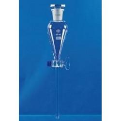 Scheidetrichter 250 ml mit eingeschliffenem Glasstopfen NS 29/32