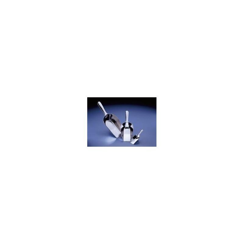 Chemikalienschaufel Aluminium 2 ml GesamtlängexSchaufellänge