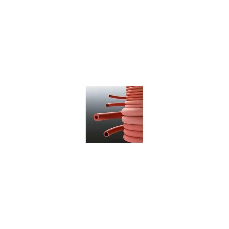 Laborschlauch Naturkautschuk rot Vakuumgeeignet Ø innen/außen