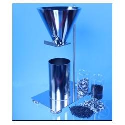 Apparatur zur Bestimmung der Schüttdichte Pulvern und