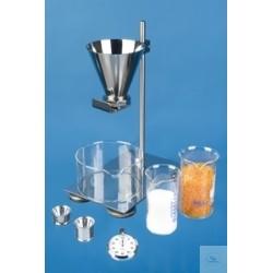 Apparatur zur Bestimmung Rieselfähigkeit DIN EN ISO6186