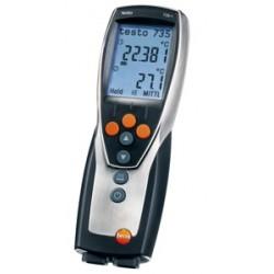 Termometr precyzyjny 3-kanałowy T 735-2 Termoelement